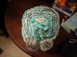czapka z pomponami
